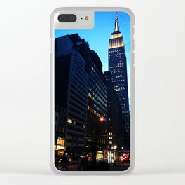 Welcome to NYC Clear iPhone Case