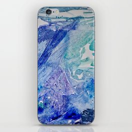 Water Scarab Fossil Under the Ocean, Environmental iPhone Skin