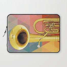 Big Baritone Horn Laptop Sleeve