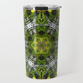 Kaleidoscope of showy St Johns Wort Travel Mug