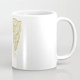 Electric Owl Art Coffee Mug