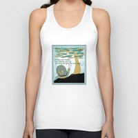 lee pace Tank Tops featuring Set Your Pace by SueOdesigns