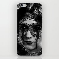 sylvia plath iPhone & iPod Skins featuring Sylvia by DIVIDUS