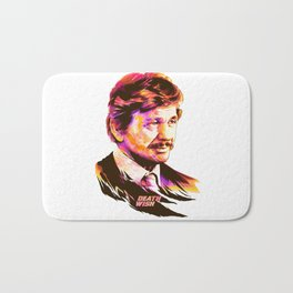 Charles Bronson: BAD ACTORS Bath Mat