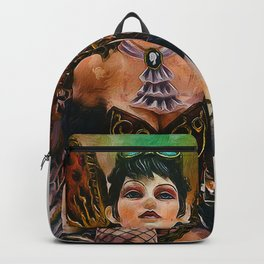 Gothic Steampunk Angel Backpack