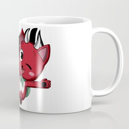 Happy The Red Cuddly Coffee Mug