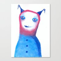 et Canvas Prints featuring ET? by Saif Chowdhury