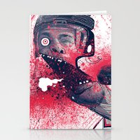 hockey Stationery Cards featuring Hockey! by Dushan Milic