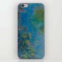 Claude Monet Wisteria iPhone Skin