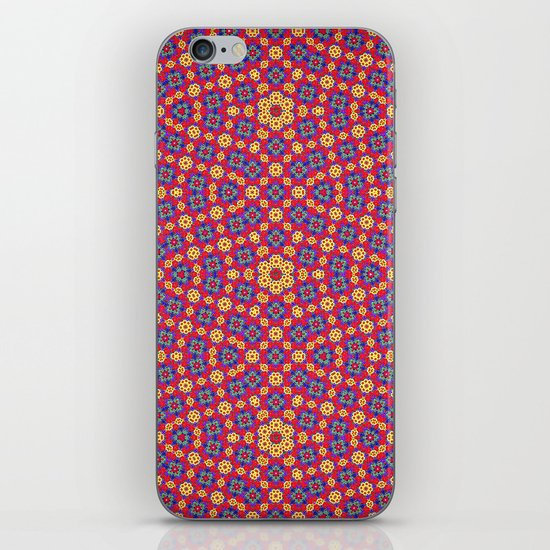 Country Festival Pattern iPhone Skin