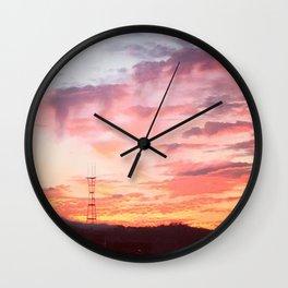 Potrero Sky Wall Clock