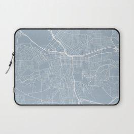 Syracuse Map, USA - Slate Laptop Sleeve