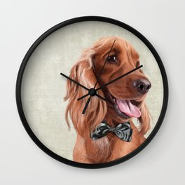 Mr. English Cocker Spaniel Wall Clock