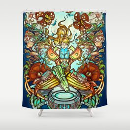 Maternal Instinct Shower Curtain