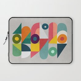 Tick Tock Machine Laptop Sleeve