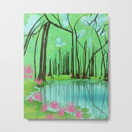 Naked Spring, Florida Metal Print