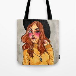 Fall Witch Tote Bag