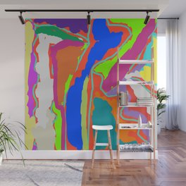 Electric Color Wall Mural