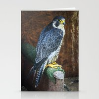 falcon Stationery Cards featuring Falcon by Veronika
