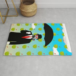 Umbrella Man Rug