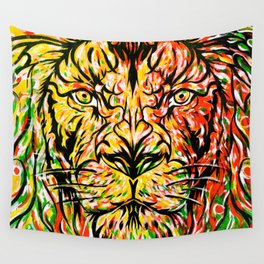 Lion in Zion Wall Tapestry