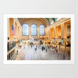 Shadows of Grand Central Art Print