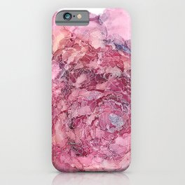 Rosy Outlook iPhone Case