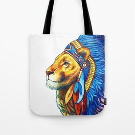The Lion Chief Tote Bag