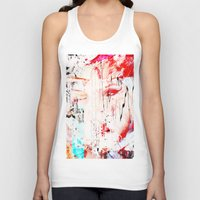 fault Tank Tops featuring FAULT LINE by JAMES JAEGER