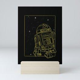 """R2-D2"" by Maggie Stephenson Mini Art Print"