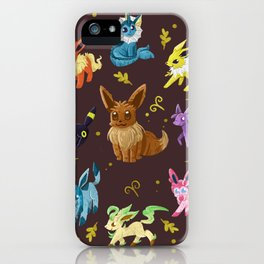 Eeveelutions v2 iPhone Case
