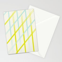 Diagonals  Stationery Cards