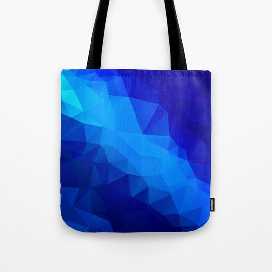 Abstract digital art polygon triangles by kars54
