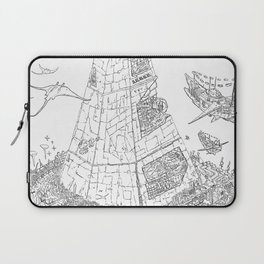 The Tower of Selfish.(Line) Laptop Sleeve