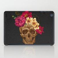 animal skull iPad Cases featuring Skull by eARTh