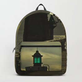 Boys at lighthouse Backpack