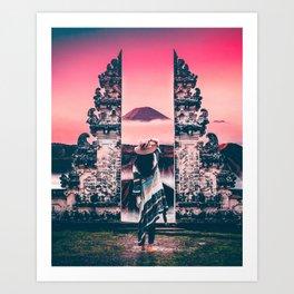 Bali Views Art Print