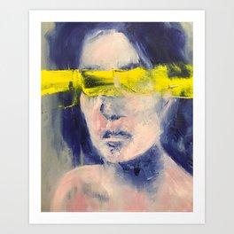 Visionless Art Print