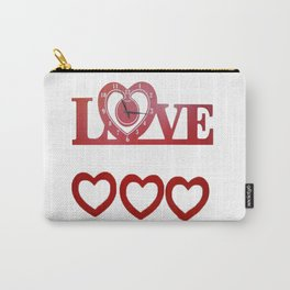 Love Time Carry-All Pouch
