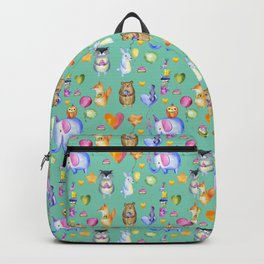 ANIMAL BIRTHDAY PARTY Backpack