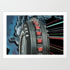 Rugged Splendour Art Print