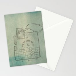 Camera Study no. 2 Stationery Cards