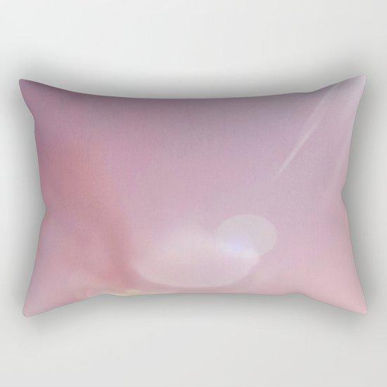 Pink Starlight Sky Rectangular Pillow