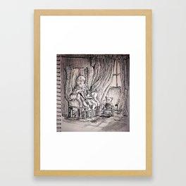 A thousand lives Framed Art Print