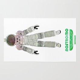 Nostromo Spacesuit Alien Rug