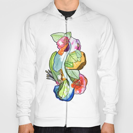 Flower Heart Hoody