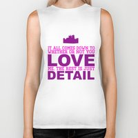 downton abbey Biker Tanks featuring Downton Abbey (Branson) by Park is Park