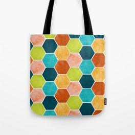 Modern Moroccan Pattern Tote Bag