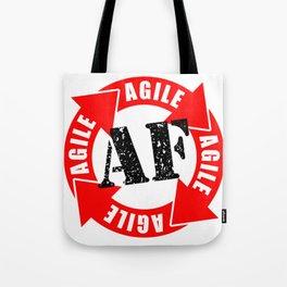 Agile AF Tote Bag