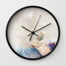"""Wanderlust is incurable."" Wall Clock"